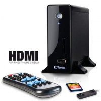 "Fantec MM-CH36US Mediaplayer 3,5"" SATA, HDMI, Card Reader, USB-Host"